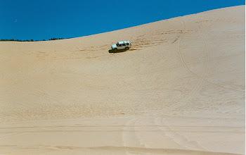 Photo: Coral Pink Sand Dunes, UTAH