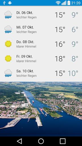 玩免費天氣APP 下載Das Wetter in Kiel app不用錢 硬是要APP