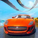 Mega Ramp Car Offline Racing - Impossible Tracks icon
