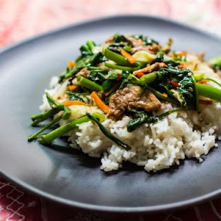 Slow-Cooked Beef and Green Bean Stir-Fry