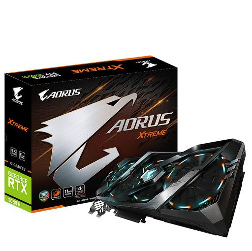 Card màn hình Gigabyte GeForce RTX 2080 Ti AORUS XTREME 11G (GV-N208TAORUS X-11GC)