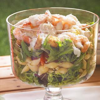 Shrimp Caesar Pasta Salad Recipes