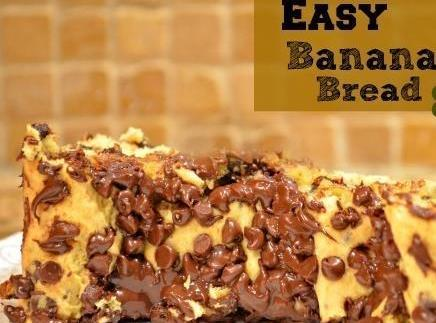 3 Ingredient Banana Bread Recipe
