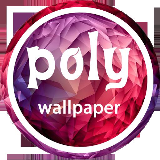 个人化のpoly wallpaper LOGO-記事Game