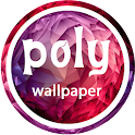 poly wallpaper icon