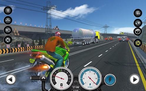 3D Moto Bike Racing - náhled
