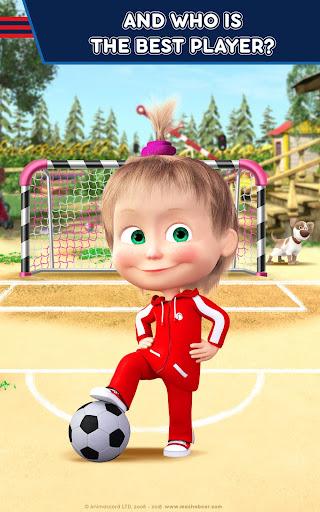 Masha and the Bear: Football Games for kids 1.3.7 screenshots 9
