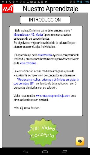 Coordenadas 3D Piru00e1mides 1.0.0 screenshots 2