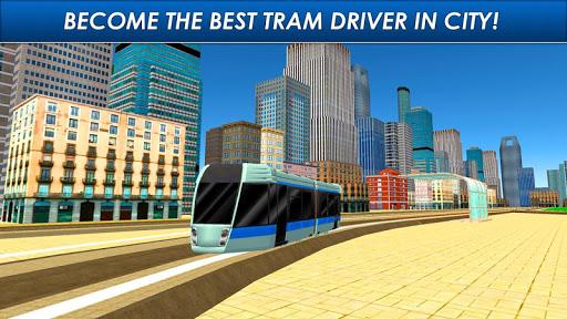 Speed Tram Driver Simulator 3D