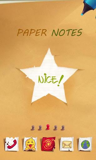紙ノートランチャー