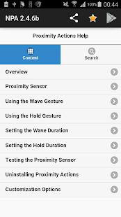 Novum Proximity Actions- screenshot thumbnail