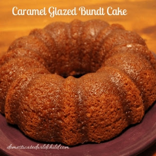 Caramel Glazed Bundt Cake Recipe