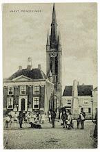 Photo: 1900 Tramrails van ZNSM op Markt.