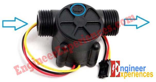 Water Flow Sensor (YF-S201)