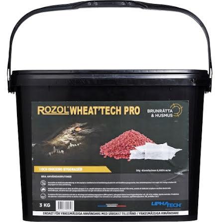 Rått-/musgift Rozol Wheat Pro 3 kg