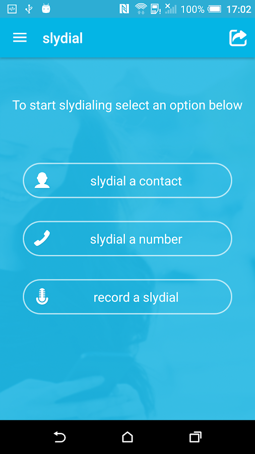 Slydial - Voice Messaging- screenshot