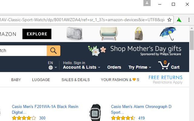 Amazon To Backpack