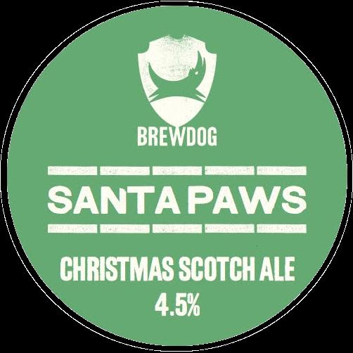 Logo of Brewdog Santa Paws