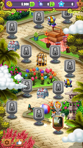 Mahjong Garden Four Seasons - Free Tile Game screenshots 4