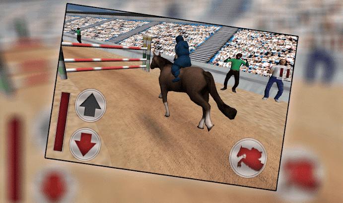 Jumping Horse Racing Simulator screenshot