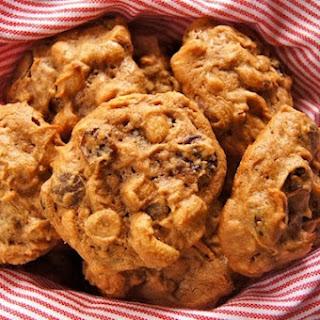 Trail Mix Peanut Butter Cookies.