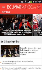 boliviaentusmanos screenshot 0