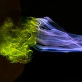 Free Flow by Francisco Little - Abstract Patterns ( dream, waves, sureal, illusion, flow, smoke )