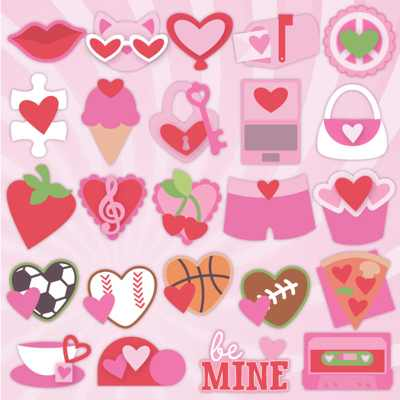 SVGCuts Valentine Kits