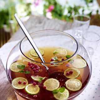 Red Currant, Lime and Mint Punch Bowl.