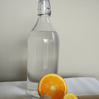 Ginger Citrus Water.