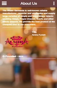 Almira Purdah - náhled