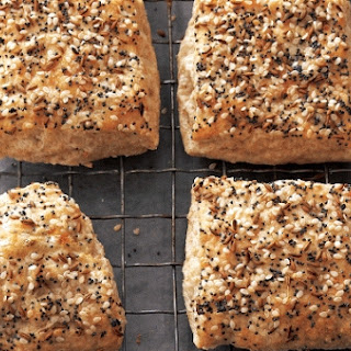 Three Seed Biscuit Squares