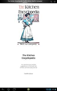 The Kitchen Encyclopedia - náhled