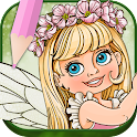 Fairies Coloring Book icon