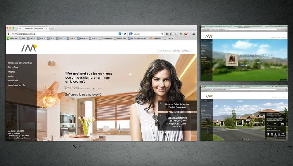 Sitio Web - Inmobiliaria Manquehue