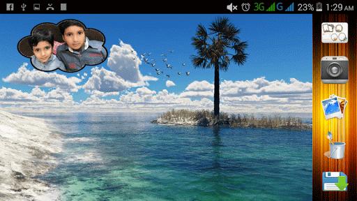 沙灘自拍|玩攝影App免費|玩APPs