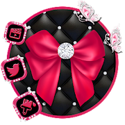 Pink Bowknot Themes HD Wallpapers