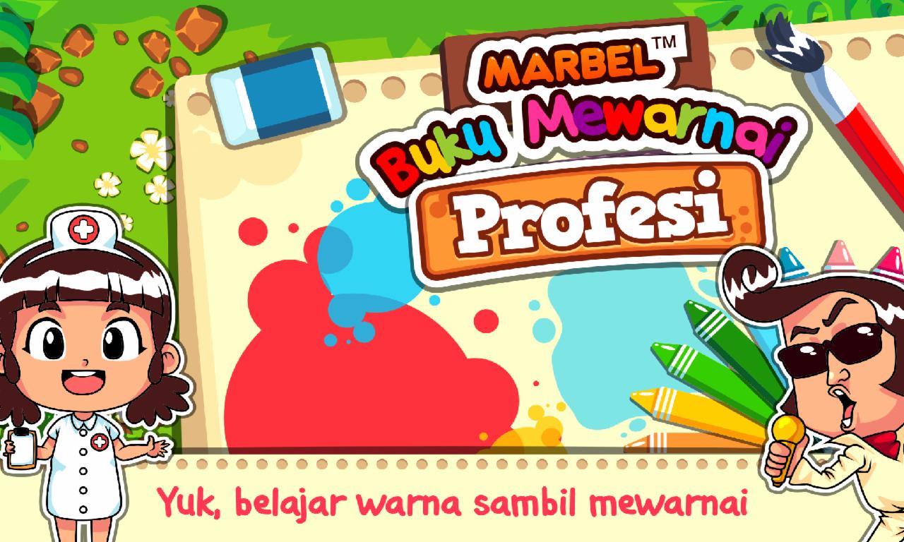 Marbel Mewarnai Profesi Apl Android Di Google Play