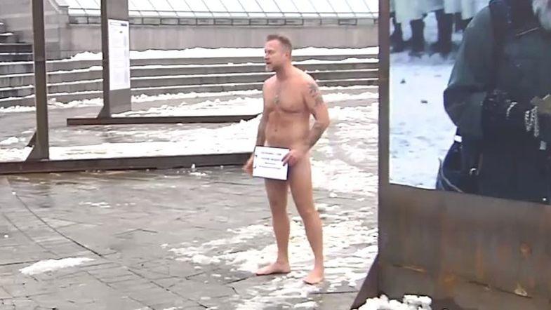 Антон Мухарский протестует против принятия законопроекта №7277