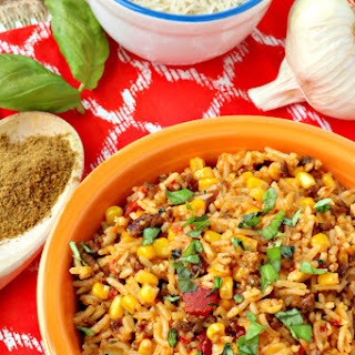 Mexican Chorizo Rice.