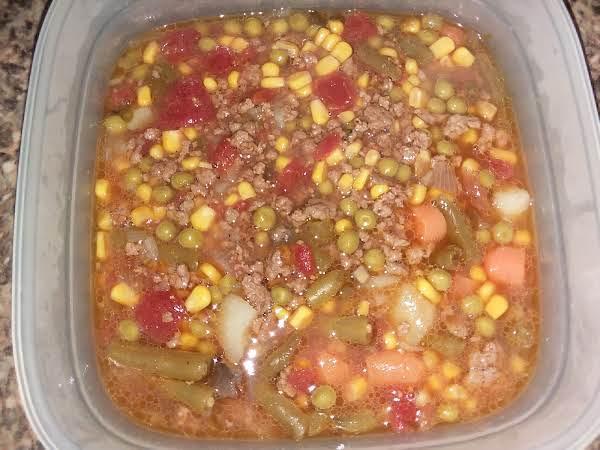 Simple Hamburger Soup Recipe