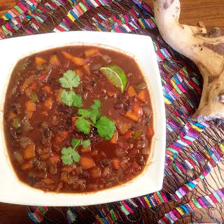 Black Bean Stew.
