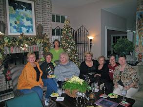 Photo: Christmas 2006 at Kathi (Hesson) Curtis's home. Rita (Leeper) Sholund, Michele (Baldree) Bibb, Linda (Wilson) Mitchell, Rosemary (Worhty) Dooley, Pam (English) Williams, Suzy (Wright) Thomas, Carol (Craven) Barnes, Mary (Traud) Austin