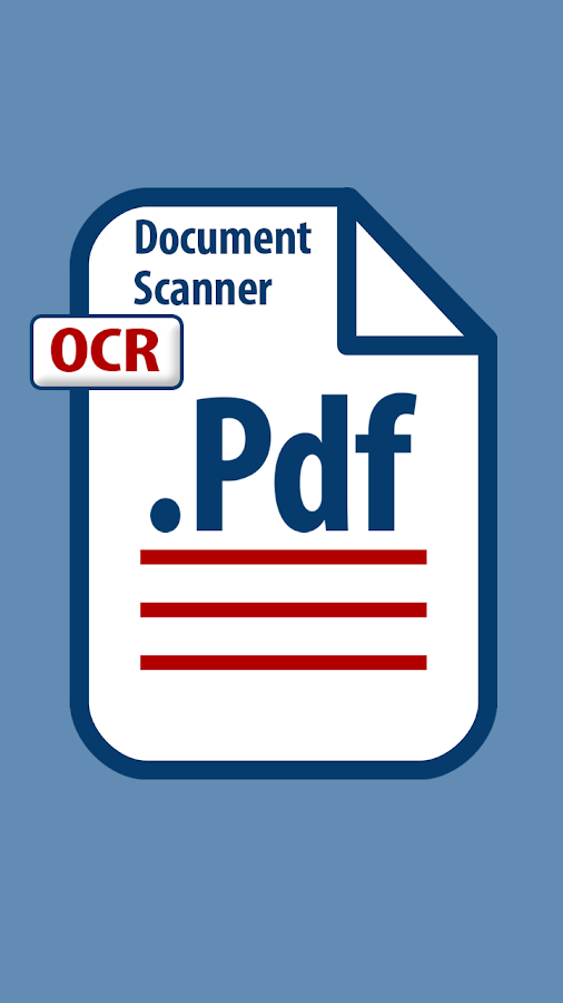Camera scanner with OCR- screenshot