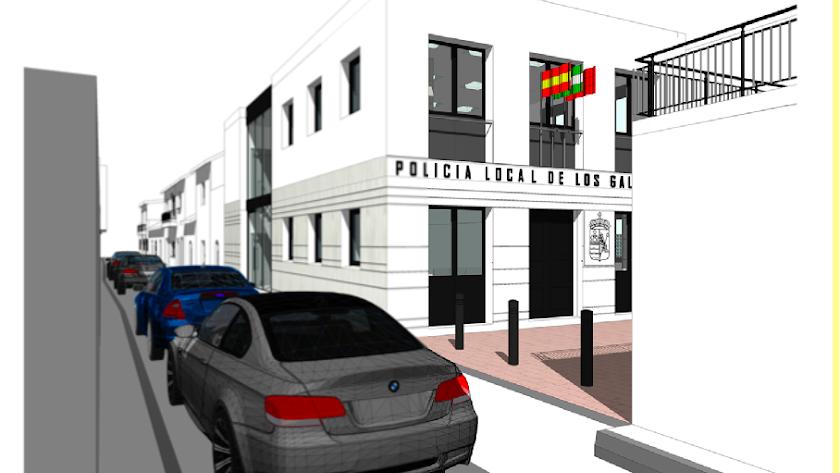 Proyecto del nuevo edificio.