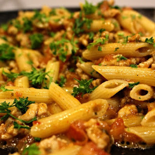 Spicy Chicken Pasta.