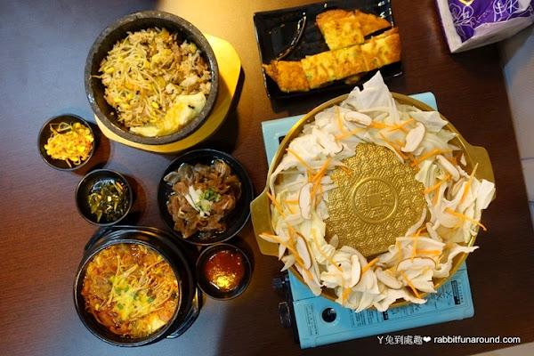 弘焺韓式料理。銅鍋烤肉、石鍋拌飯