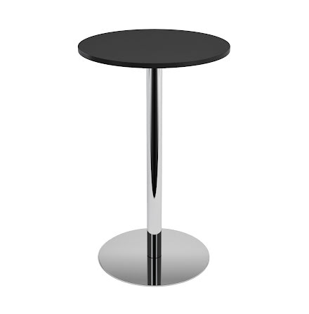 Ståbord 900 diam svart