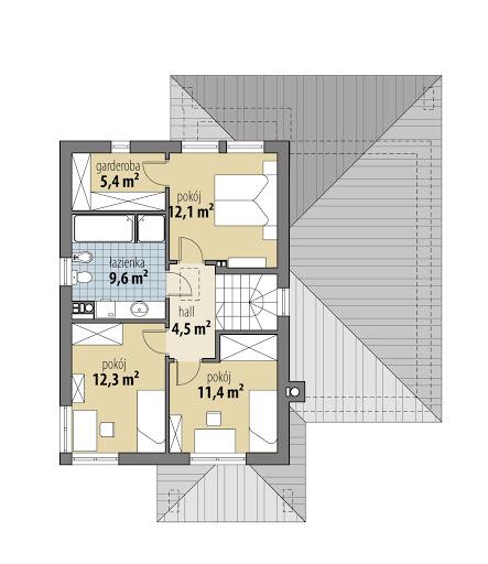 Memfis - Rzut piętra