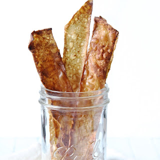 Smoky Oil-Free Rice Paper Bacon.